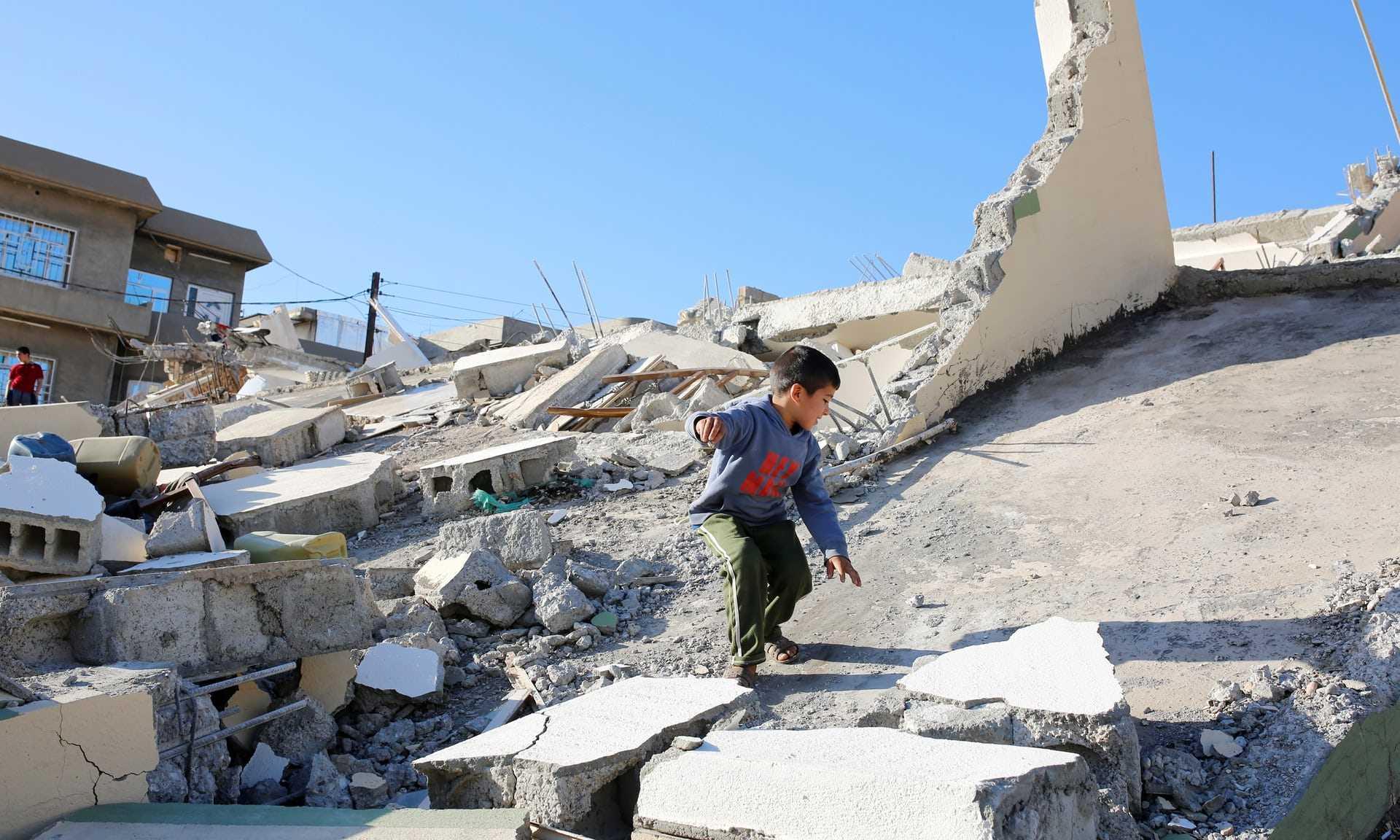 علت وقوع زلزله