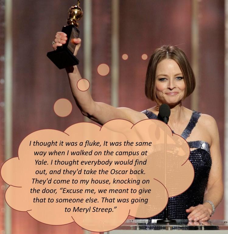 Meryl Streep، برنده اسکار، گویا دچار این ناهنجاریست.