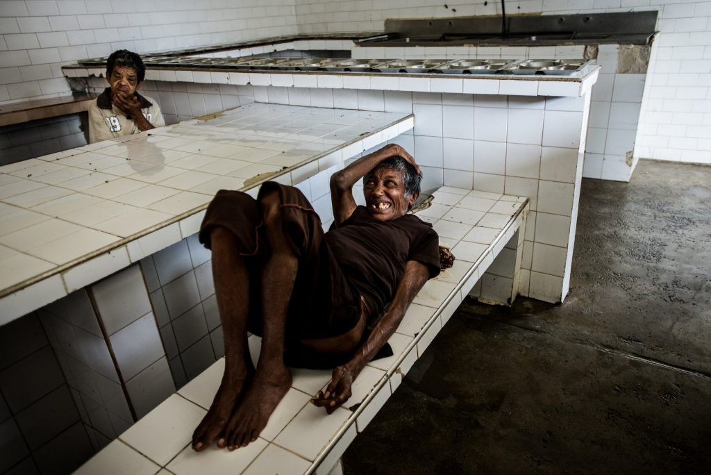 وضعیت بهداشتی بسیار بدی بر الپامپرو حاکم است. © Meridith Kohut for The New York Times