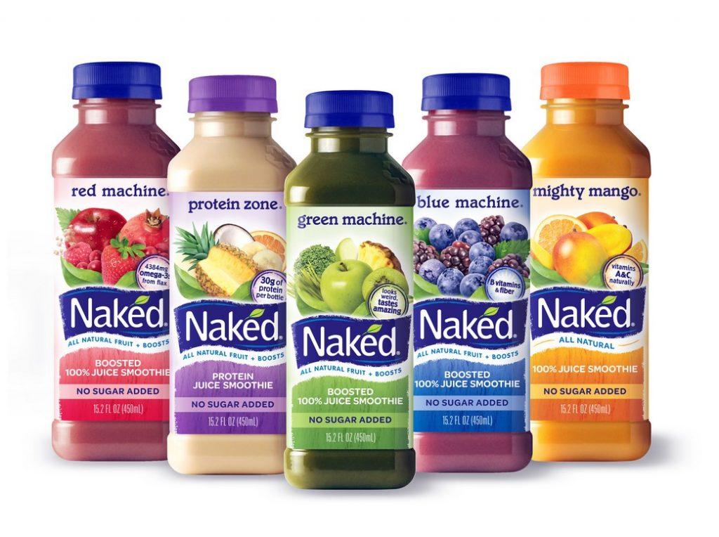 بفرمایید Naked Juice! صد درصد طبیعی! بدون شکر!