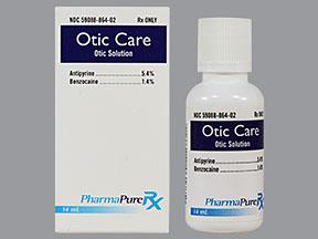 Antipyrine And Benzocaine (Otic Route)-virtualdr