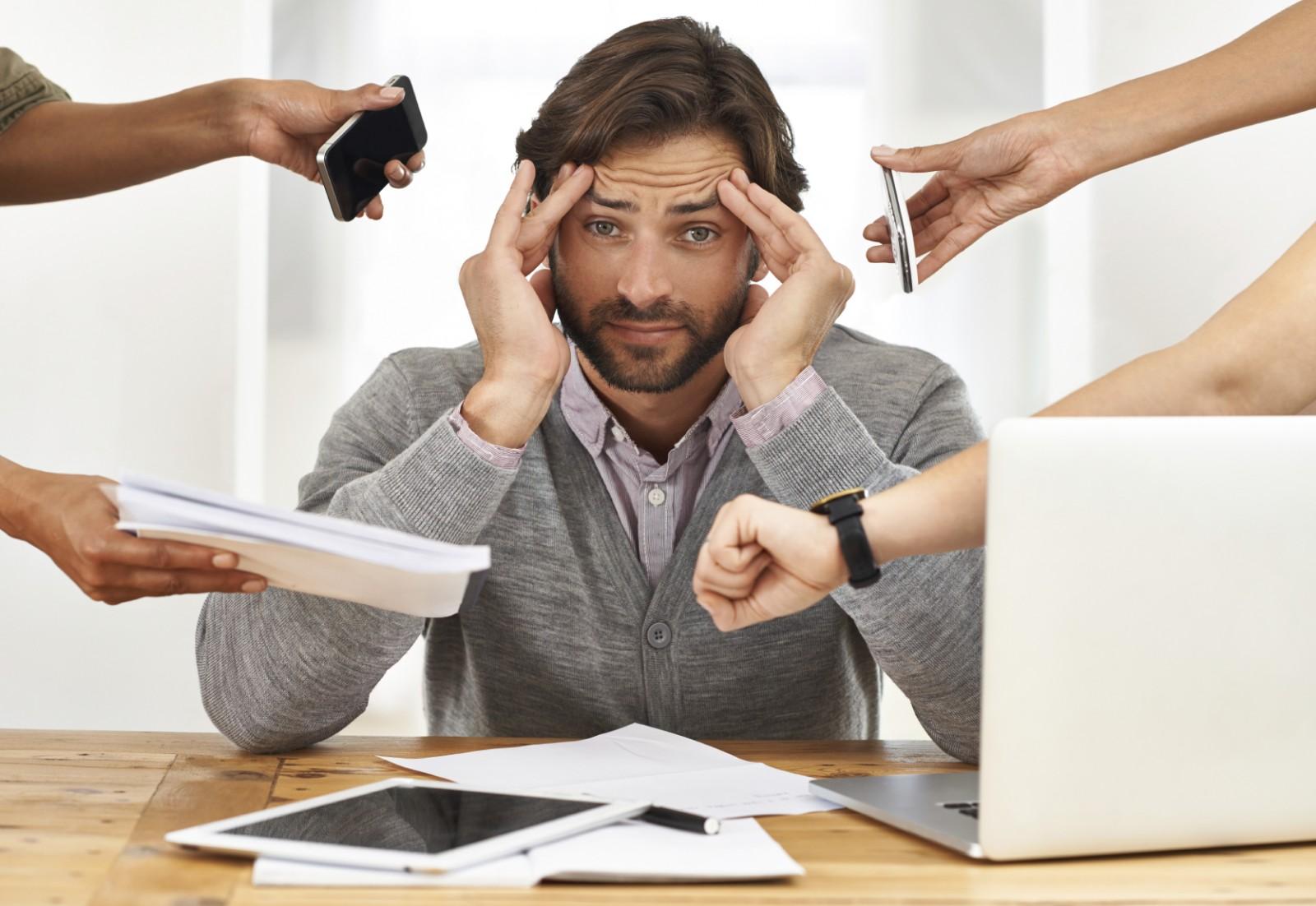 استرس در کار