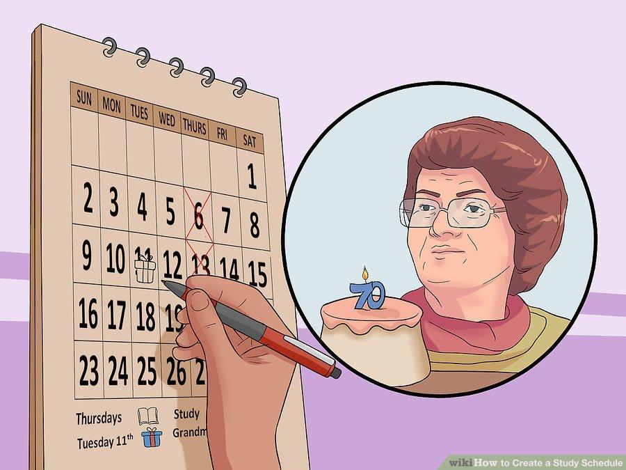 چگونه برای درس خواندن برنامه ریزی کنیم