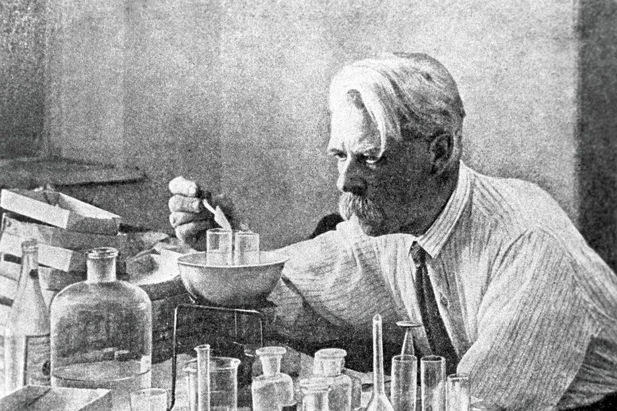 """نیکولای کولتسوف وجود """"مولکول وراثتی بزرگ"""" را پیشبینی کرده بود. Sputnik/Science Photo Library"""
