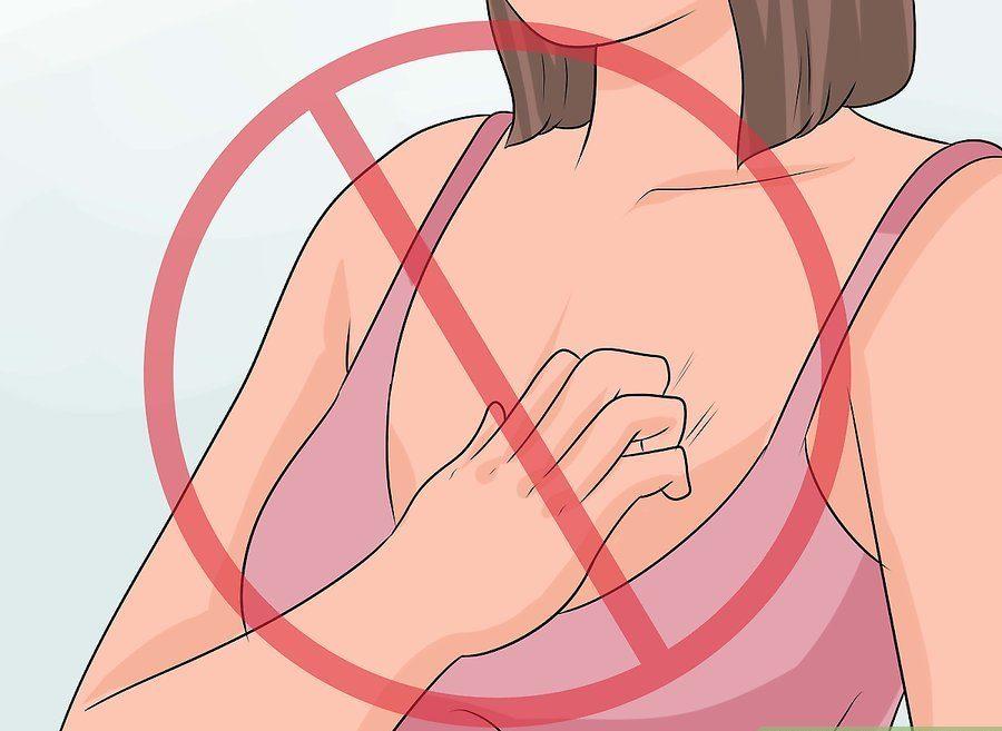 علت دانه های اطراف نوک سینه میتواند آکنه باشد