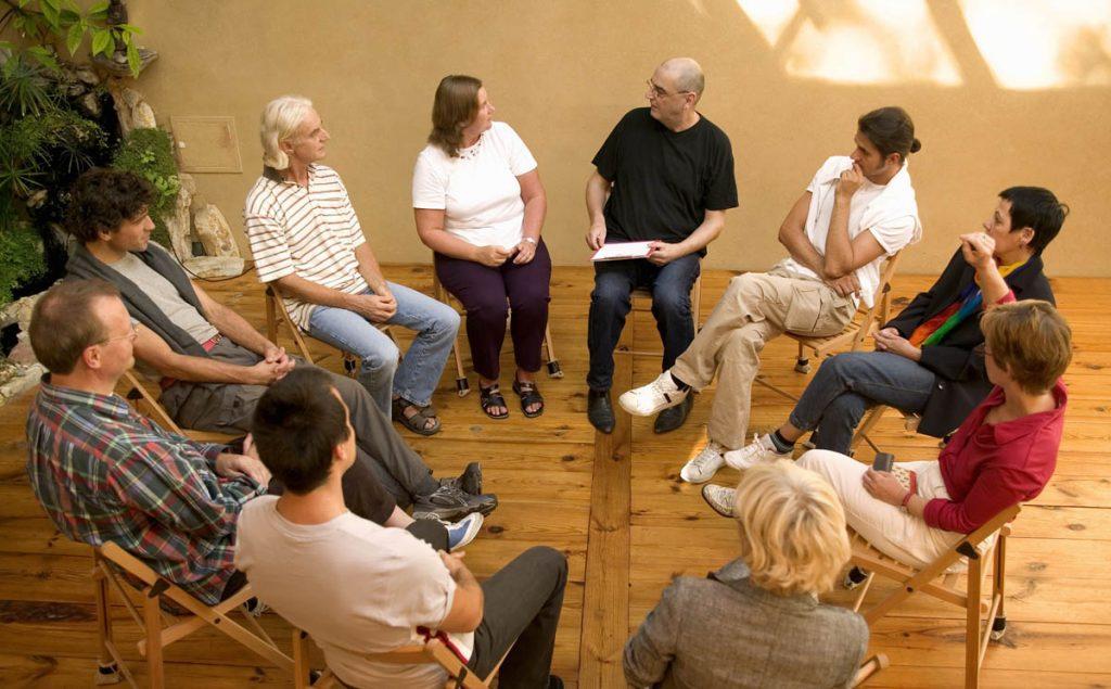 گروه درمانی-روش کار