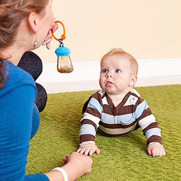 رشد شناختی کودک 3-6 ماهگی