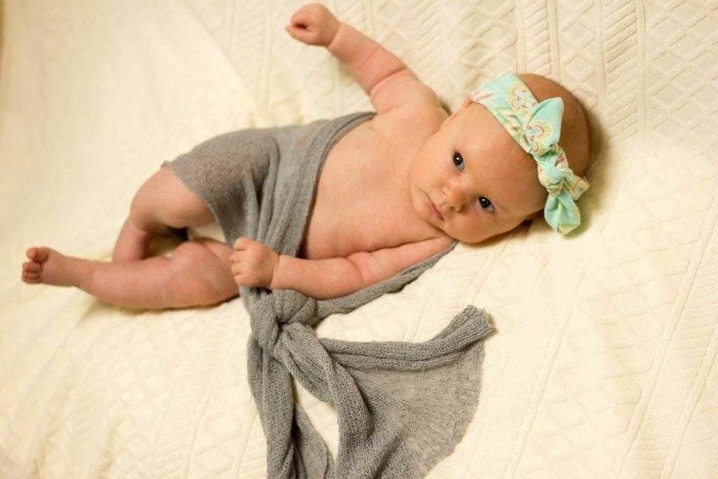 کودک شش هفته