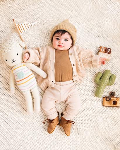 رشد کودک 7 ماهه
