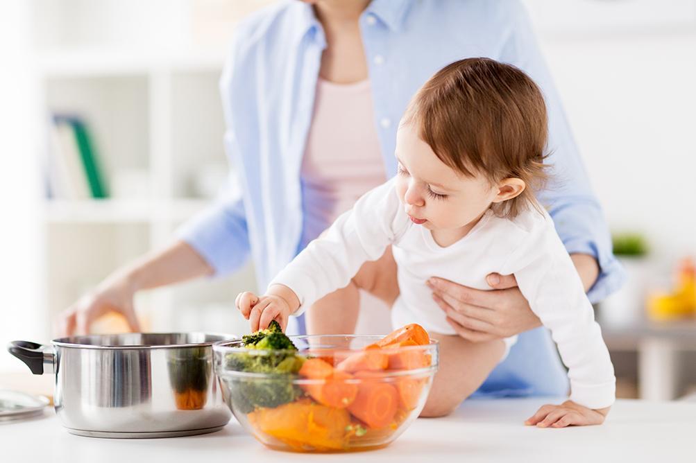 غذای کودک ماه ششم