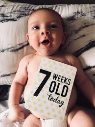 کودک هفت هفته