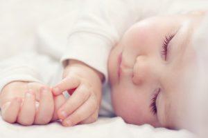 خواب کودک هفت هفته