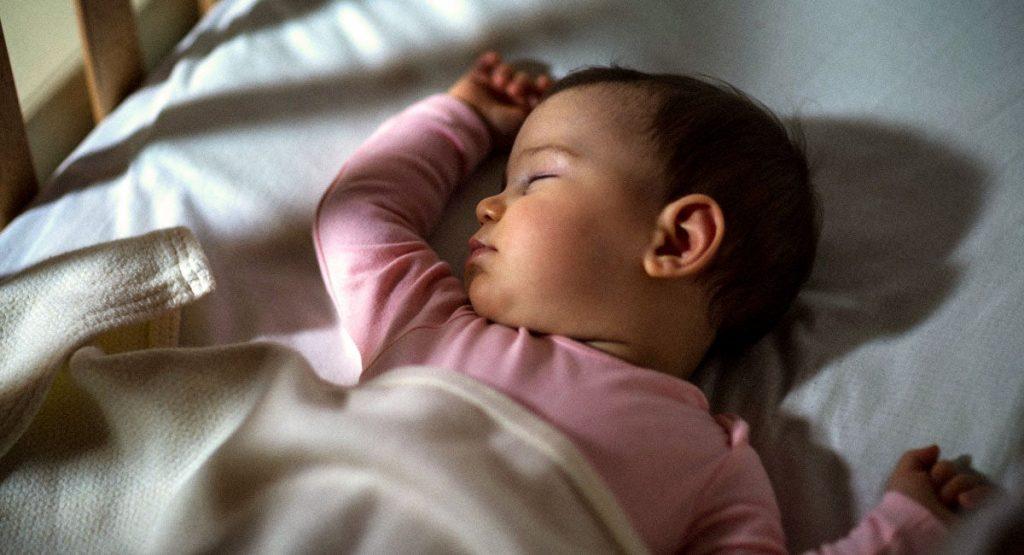 خواب کودک نه ماهه